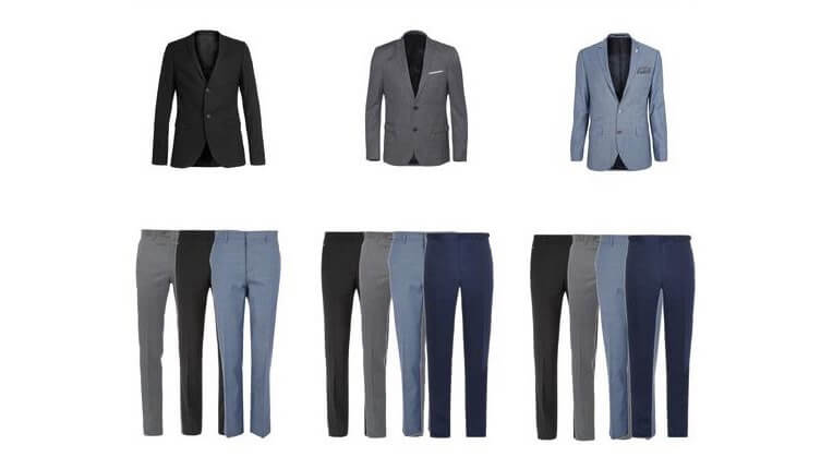 【Suit Color】 Get Bored with Black Suit Jacket & Pants? What about this…?!