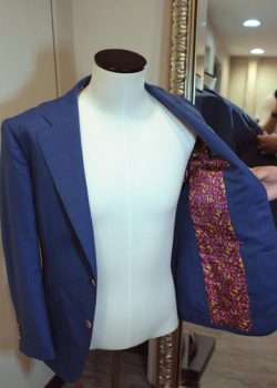 Blue Jacket by Dream Bespoke