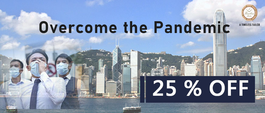【Pandemic Special】A 25% Off for All Hongkongers!