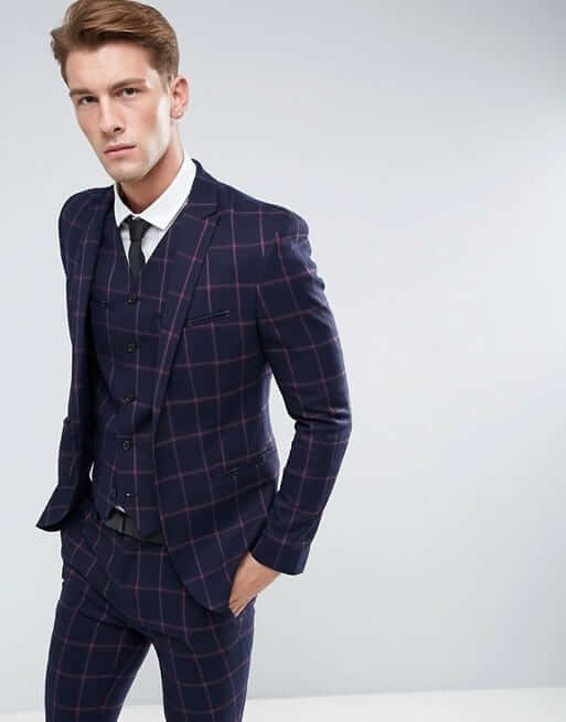Checked suit @ A Timeless Tailor