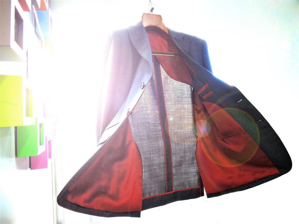 Half-lining suit