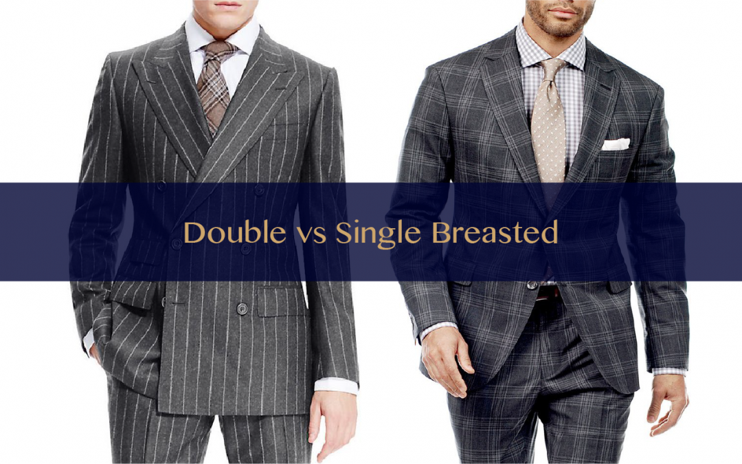 Double vs. Single-Breasted Suit