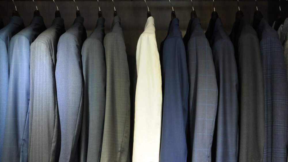 【Suits】 Dry Cleaning or Machine Wash?
