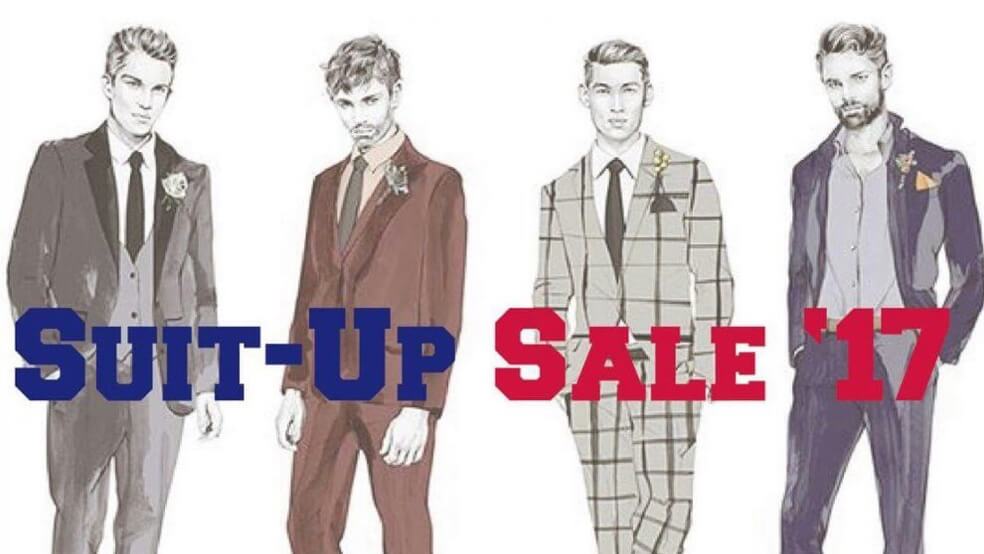 Promotional Discounts on Suits
