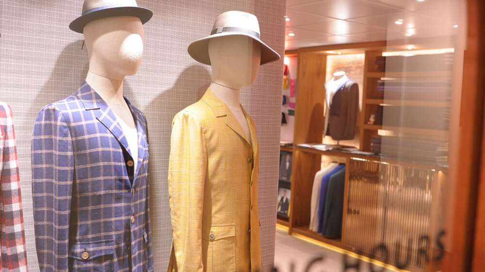 【Interactive】 Fabrics for Casual Suits