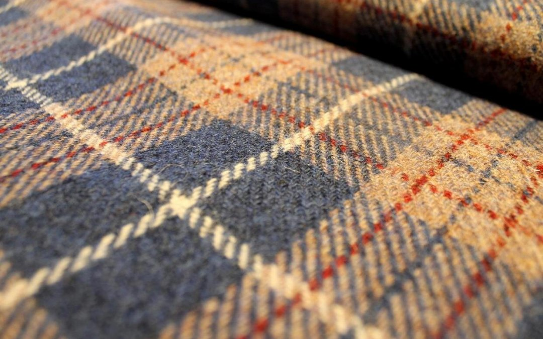 【The tone and variation of tartan fabric 】