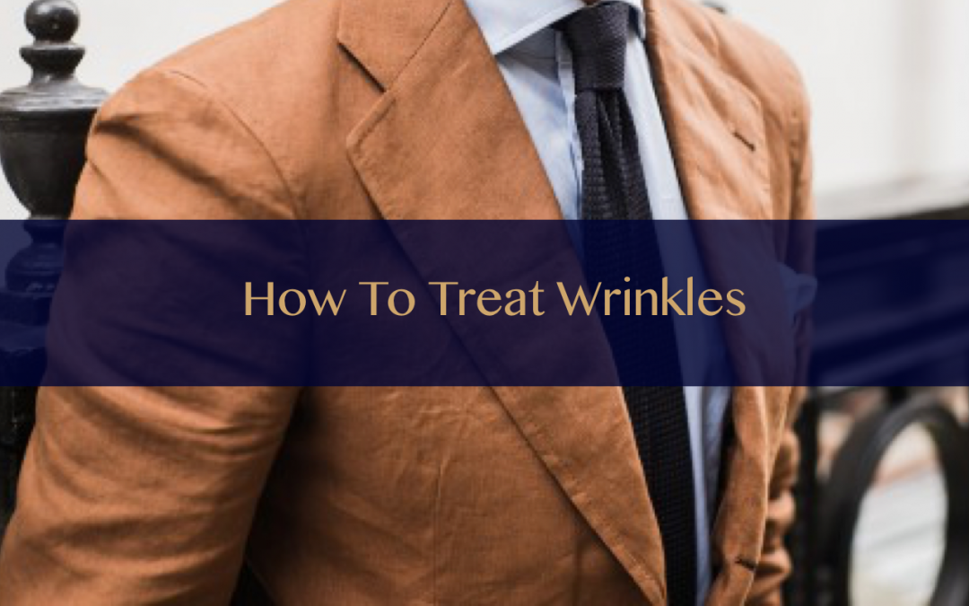 How to treat wrinkles on your suit