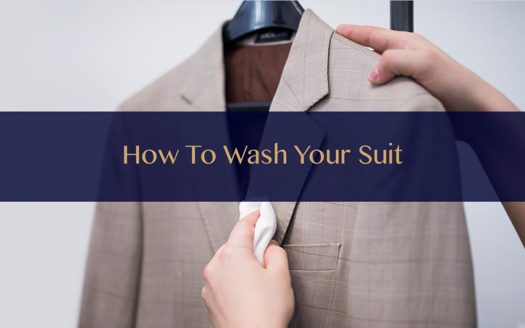 How to wash your suit