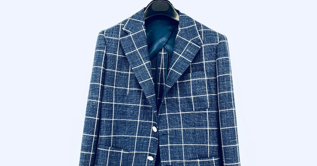 【Smart Casual】Checked Suit – Perfect foil for Mix and Match